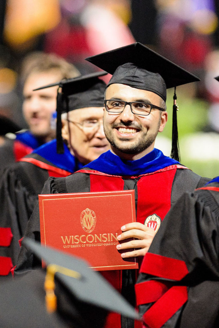 PhD at Spring Commencement