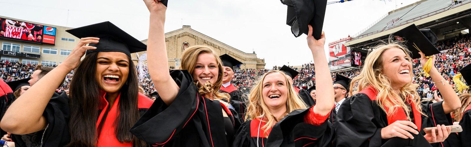 celebrating UW graduates